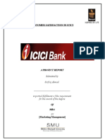 Customer Satisfaction with reference to ICICI Banl Ltd..doc