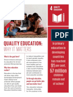 ENGLISH Why It Matters Goal 4 QualityEducation