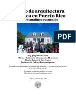 Esbozo de arquitectura histórica en Puerto Rico