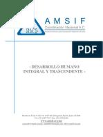 Desarrollo Humano Integral y Trascendente