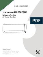 Premier HW Installation Manual