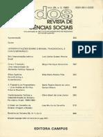 REIS, Elisa. Elites Agrárias, State-building e Autoritarismo, 1982