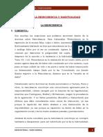 DERECHO Penal Reincidencia y Habitualidad