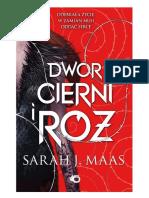 Sarah J. Maas - Dwór Cierni i Róż