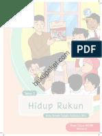 Kelas II Tema 1 Buku Guru