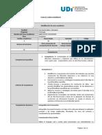 Programa -Bases Socio Culturales - 2015 - II