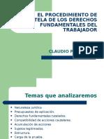 Cpalavecino - Procedimiento de Tutela Laboral