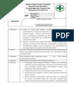 Spo 1.2.5.3 Kajian Dan Tindak Lanjut Terhadap Masalah-masalah Spesifik Dalam Penyelenggaraan Program Dan Pelayanan Di Puskesmas