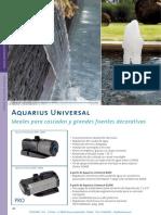 Bombas Aquarius Universal