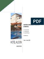 Hotel Alción. Auditoría de Operaciones. Estudio Bonilla