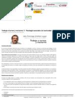 Trabajo a Turnos y Nocturno_ 3 - Patología Asociada a La Turnicidad _ Prevencionar