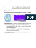 DB TestingSoftwaretesting Help