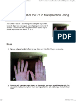 Humilde Ejemplo de Aprendizaje Multisensorial