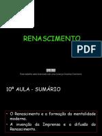 j - o Renascimento