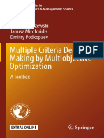 Ignacy Kaliszewski, Janusz Miroforidis, Dmitry Podkopaev auth. Multiple Criteria Decision Making by Multiobjective Optimization A Toolbox.pdf