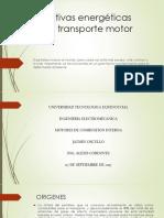 Alternativas Energéticas Para El Transporte Motor