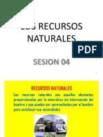 4 Sesión 4- Los Recursos Naturales