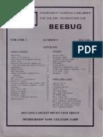 BEEBUG cover v1n9