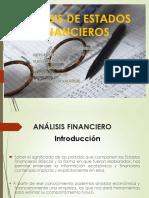 Analsis de Los Estados Financieros