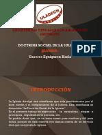 Doctrina Social de La Iglesia Diapositiva