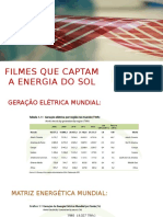 Filmes Que Captam a Energia Do Sol