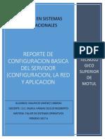 reporte de configuracion basica del servidor.docx