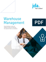 JDA Warehouse Management Brochure
