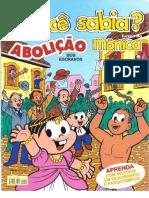 Turma Da Monica - Voce Sabia - n02 Abolicao Dos Escravos