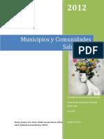Municipios y Comunidades Saludables - Diciembre 2012
