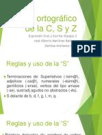 Uso Ortográfico de La C S y Z(Original)