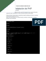 Creador de Instalador de Aplicación Web-español
