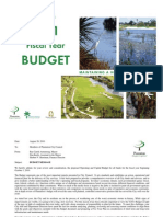 Recommended Budget 2011