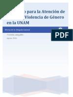 Version Amigable Protocolo de Actuacion en Casos de Violencia de Genero UNAM