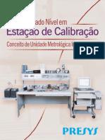 Catálogo Estação de Calibração Presys