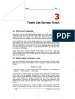 Bab 3 - Tanah Dan Genesa Tanah
