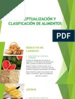 CONCEPTUALIZACIÓN Y CLASIFICACIÓN DE ALIMENTOS.pptx