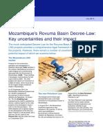 Client Briefing Mozambique Rovuma Basin Decree New 6028706