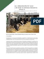 Manejo y Alimentación de Vacas Productoras de Leche en Sistemas Intensivos