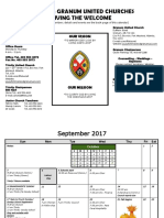 working document calendar 2017-2018