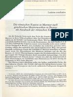 Die Römischen Kopien in Marmor Nach Griechischen Meisterwerken in Bronze Als Ausdruck Der Römischen Kultur_Andreae_1992