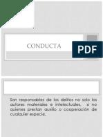 Expo Conducta derecho civil