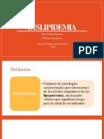 Dislipidemia - Dra. Wigodski