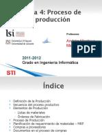 Tema 4 - Proceso de Produccion