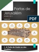 Estudo Acerca Das 12 Portas No Livro de Neemias Joanessa
