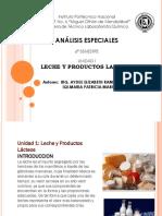 Unidad 1 Leche y Productos Lacteos