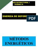 Apuntes Unidad III Energia de Deformacion