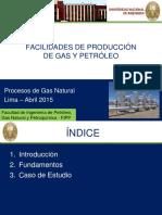 Facilidades de Producción de Gas y Petróleo
