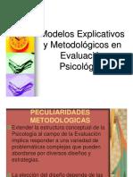 Modelos Explicativos y Metodolgia en Ev.psi