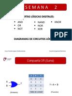 Compuertas Logicas Digitales.diagramas de Circuitos Logicos 44932