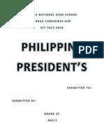 Armand Philippine Preidents